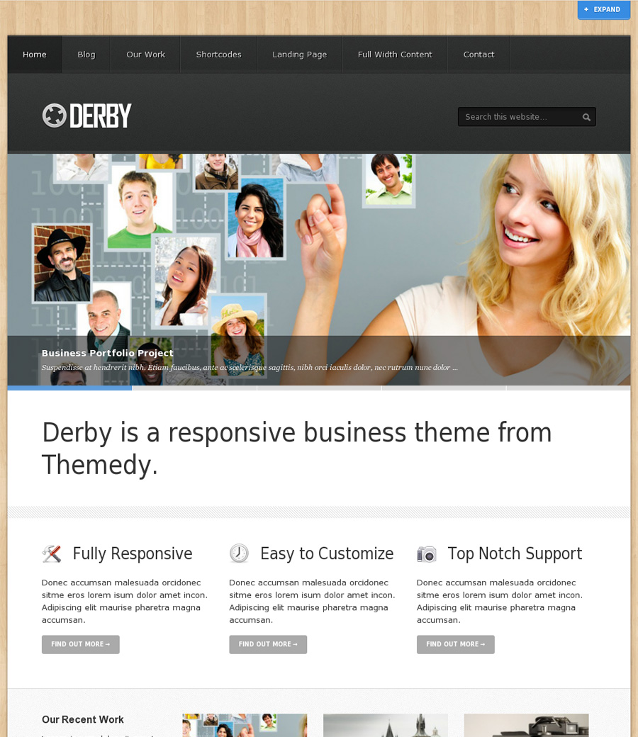Derby Genesis Child theme