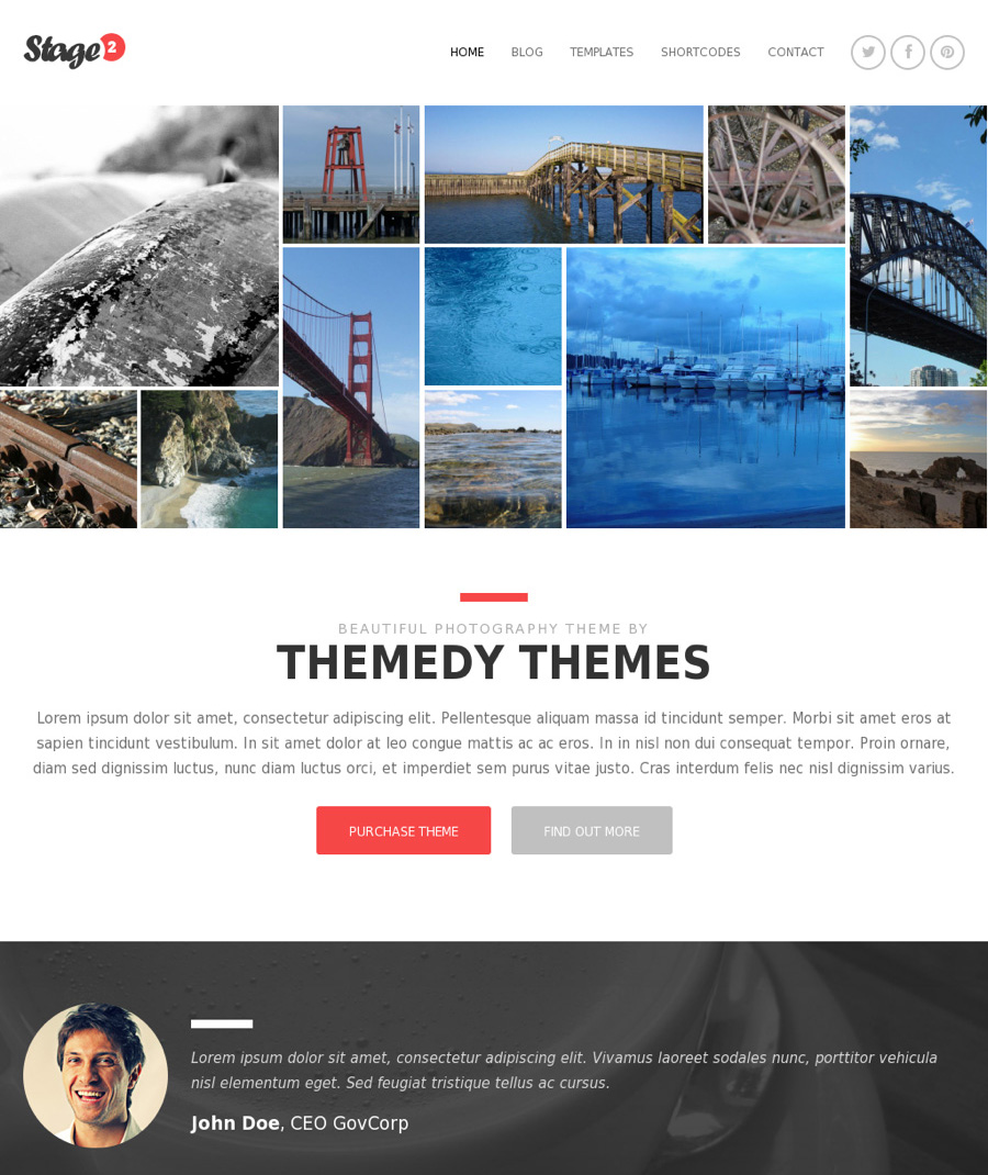 Best Thesis WordPress Theme Skins orf          ideas com Blog writing services online Themedy Richmond is available for the Genesis Framework as well as for Thesis