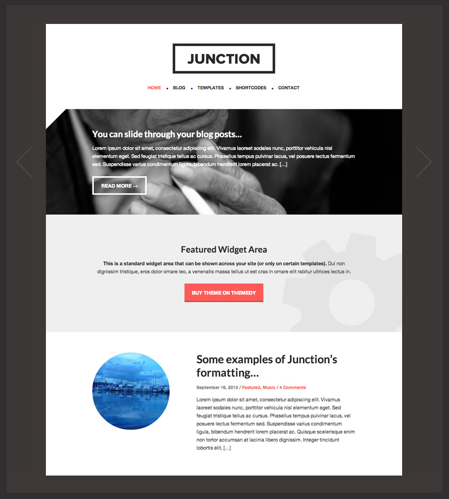 Website for thesis